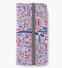 Vinilo o funda para iPhone London City Cartel del mapa