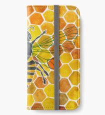 Honeybee iPhone Wallet/Case/Skin