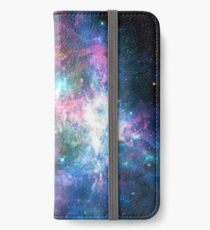 Nebula Galaxy Print iPhone Wallet/Case/Skin