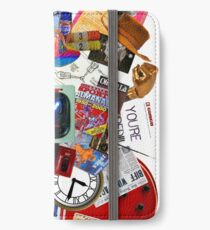 Back to the Future Trilogy MIX (saturated version) iPhone Wallet/Case/Skin
