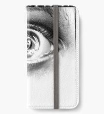 Dont Blink iPhone Wallet/Case/Skin