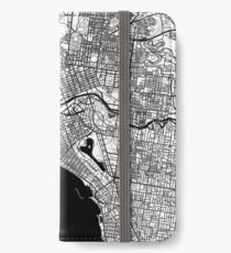 Melbourne Map iPhone Wallet/Case/Skin