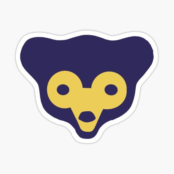 Vintage Cubs Logo Sticker