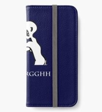 Grr. Argh. iPhone Wallet/Case/Skin