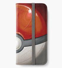 Wartorn Pokeball - Red iPhone Wallet/Case/Skin