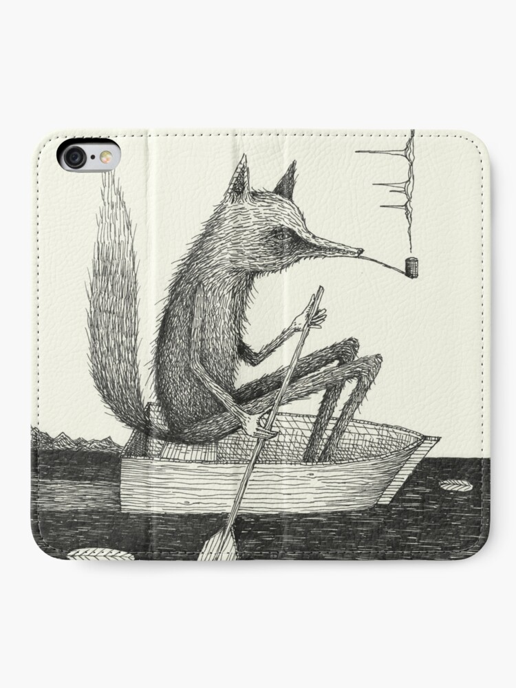 Alternative Ansicht von Across The Lake iPhone Flip-Case