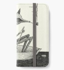 Across The Lake iPhone Flip-Case/Hülle/Skin