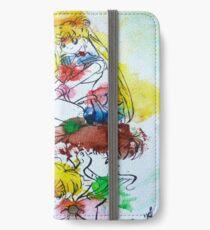 Sailor Scout Splash iPhone Wallet/Case/Skin