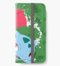 Ivysaur Splatter iPhone Wallet/Case/Skin