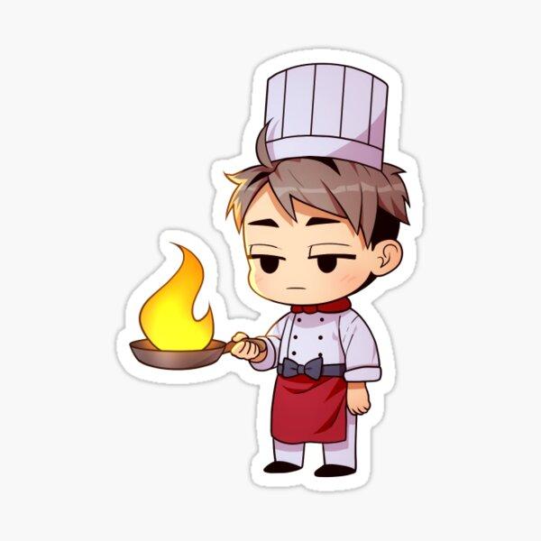 Haikyuu!! Chefs - Osamu (1/12) Sticker