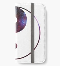 Ying and yang galaxy iPhone Wallet/Case/Skin