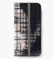 Elvis Presley original  ink painting iPhone Wallet/Case/Skin