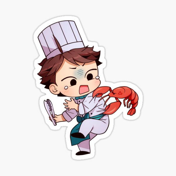 Haikyuu!! Chefs - Oikawa (8/12) Sticker