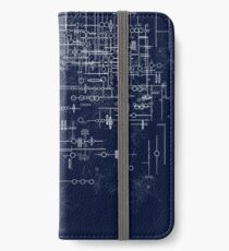 GH325 Writing iPhone Wallet/Case/Skin