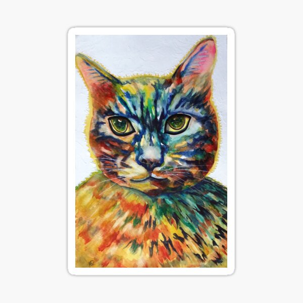 Cat- A- Tude Sticker