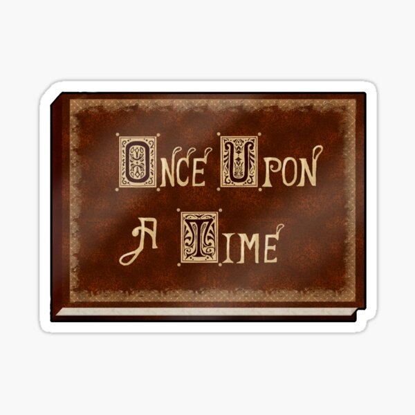 Once Upon A Time Sticker