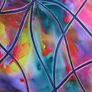 Faux stained Glass II by ksgfineart