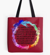Follies And Accomplishments Tote Bag