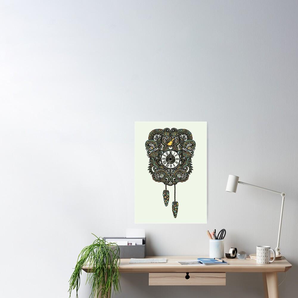 Cuckoo Clock Nest Poster
