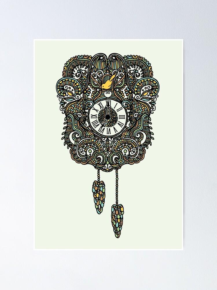Alternate view of Cuckoo Clock Nest Poster