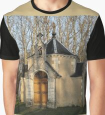 Church or Crypt?, Montresor, Loire Valley, France 2012 Graphic T-Shirt