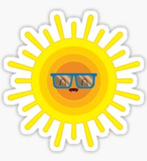 Cheerful Summer Sun Sticker
