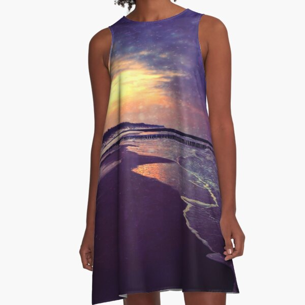 Walking on the dream A-Line Dress