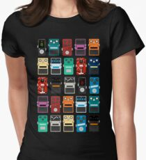 Pedal Board Women's Fitted T-Shirt