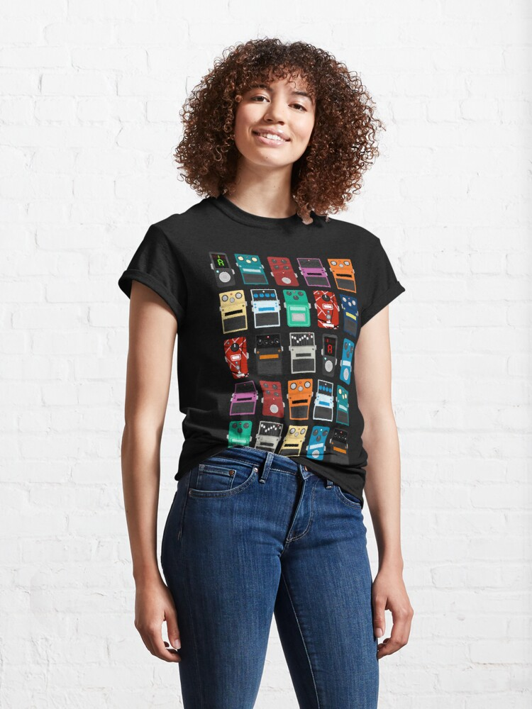 Alternate view of Pedal Board Classic T-Shirt