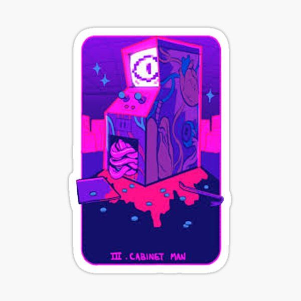 Cabinet Man III Sticker