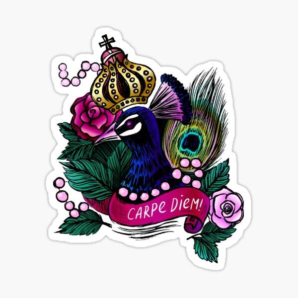 King Peacock  Sticker