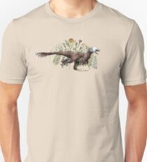 Velociraptor and plant life T-Shirt