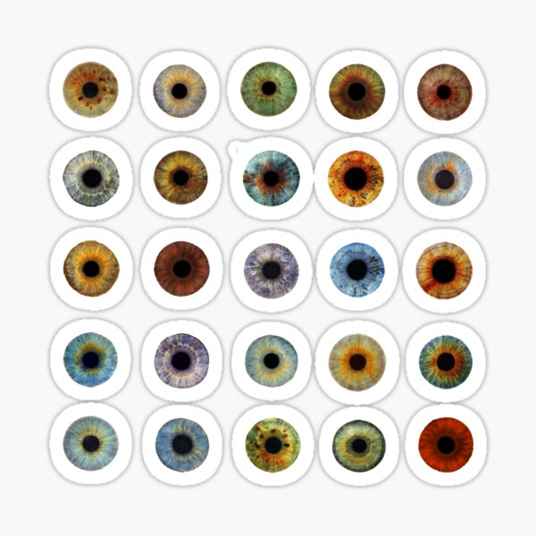 Eyeballs Assortment Sticker
