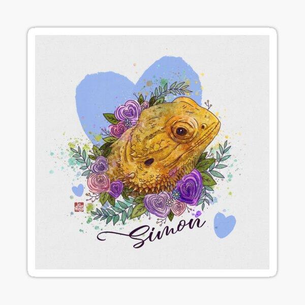 Valentine Beardie - Simon Sticker