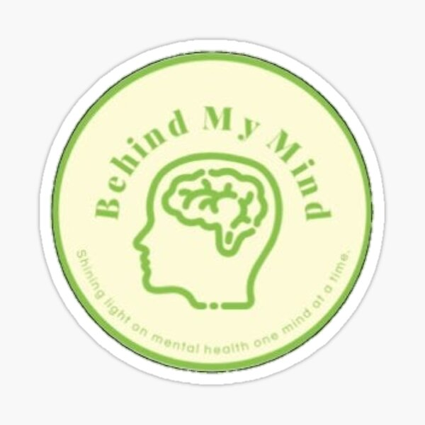 Behind My Mind Sticker