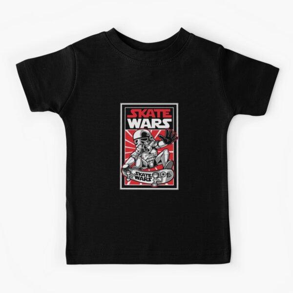 Wars Skateboard Kids T-Shirt