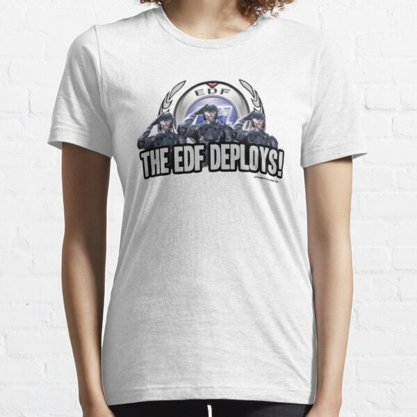 Earth Defense Force The EDF Deploys!  Essential T-Shirt