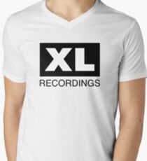 XL Recordings Men's V-Neck T-Shirt