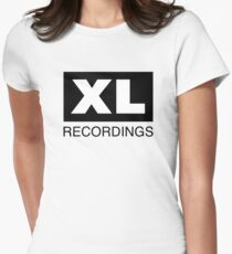 XL Recordings Women's Fitted T-Shirt