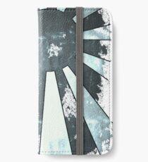 Aufgehende Sonne iPhone Flip-Case/Hülle/Klebefolie