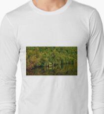 """""""Heritage Landing"""" Long Sleeve T-Shirt"""