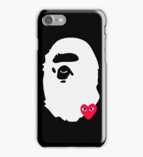 BAPE X COMME DES GARCON iPhone Case/Skin