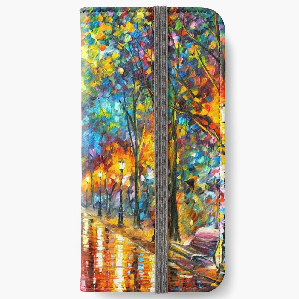 WHEN THE DREMS CAME TRUE - Leonid Afremov iPhone Wallet