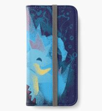 totodile, croconaw and feraligart evolutions cool design iPhone Wallet/Case/Skin