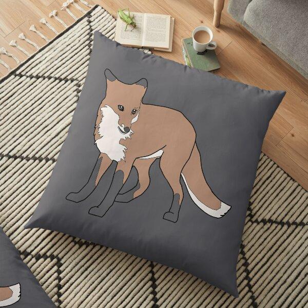 Scarlett the Red Fox Floor Pillow