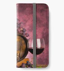 Red wine iPhone Wallet/Case/Skin