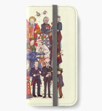 The party doesn't start until the Doctor walks in...twelve times iPhone Wallet/Case/Skin