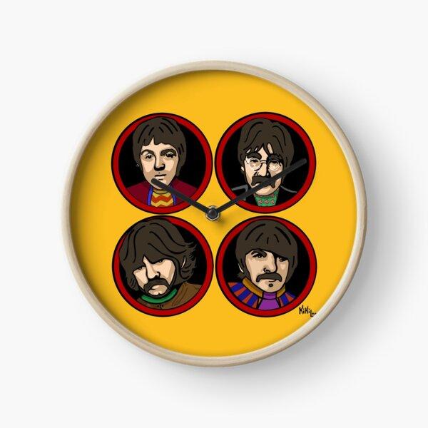 Submarine yellow & red Reloj