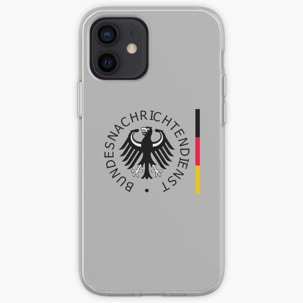 Bundesnachrichtendienst BND Federal Intelligence Service of Germany iPhone Soft Case