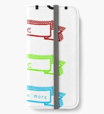 Love, Life, and Staying In More iPhone Wallet/Case/Skin